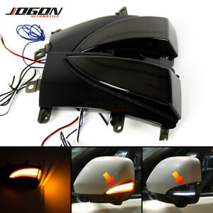 LED Dynamic Side Mirror Sequential Light For Nissan Patrol Y62 Armada Quest