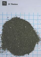 1 troy ounce (31,1 gram) Titanium metal granulate 99,9% - Element 22 sample