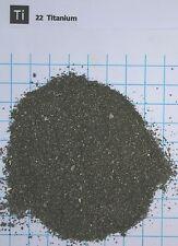 1 troy ounce (31,1 gram) Titanium metal granulate 99,9% - Element 22 sample