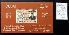 DUBAI 1964 Kennedy As Described U/M NB2527