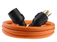 30 Amp 10 FT NEMA L14-30 4 Wire 10 Gauge 125/250V Generator Power Cord