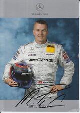 Marcel Fassler Signed Mercedes-Benz DTM Promo Card.