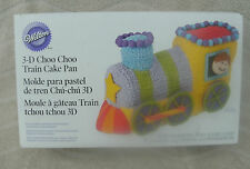 Wilton 3-D Choo Choo Train Cake Pan ~ NEW