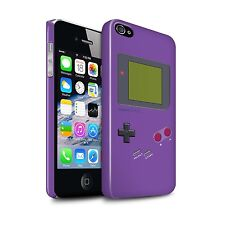 STUFF4 Gloss Phone Case for Apple iPhone Phones/Video Gamer/Gameboy/Cover
