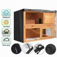 4FT Rabbit Hutch Cover Pet Bunny Cage Waterproof Dustcover Outdoor n n Q9R1 F1X7