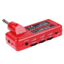 F1 Headphone Guitar Amplug Amplifier Mini Amp MP3 USB Charge Long Battery Life