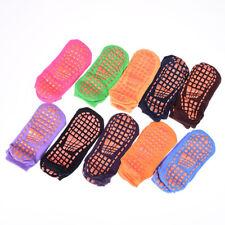 1pair women cotton yoga socks barre dancing socks non slip 10 colors barresockEB