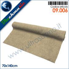Moquette acustica rigata (a costine) colore beige - 70x140cm