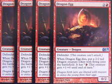 XXX 4x DRAGON EGG englisch magic 2014 M14 (dragon defender red) NM/MINT XXX XXX