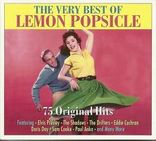 THE VERY BEST OF LEMON POPSICLE - 3 CD BOX SET  DREAM LOVER, ONLY SIXTEEN & MORE