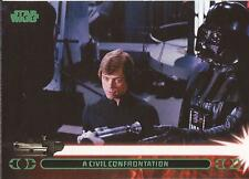 """Star Wars Jedi Legacy - Green Parallel Card 37A """"Turns Luke Over to the Emperor"""""""