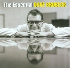 DAVE BRUBECK - THE ESSENTIAL DAVE BRUBECK   ( 2 CDs - NEW & SEALED CD)