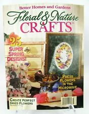 Better Homes & Gardens Floral & Nature Crafts Magazine March 1996 Issue 12