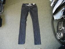 "Zara TRF Skinny Jeans Waist 30"" Leg 34"" Faded Dark Blue Ladies Jeans"