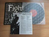 Fight - War of words Rare 11 Tracks 1993 Vinyl LP Insert RARE SLEEVE