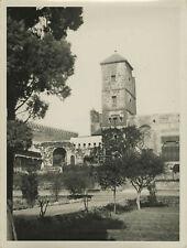 Le jardin des Oudayas à Rabat (Maroc, Morocco). Ca. 1935.