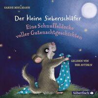 DER KLEINE SIEBENSCHLÄFER: GUTENACHTGESCHICHTEN-BOHLMANN,SABINE HÖRBUCH CD NEW