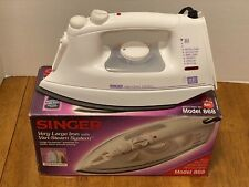 Singer Vari-steam System Large Iron with Vertical Steam Model 868 Original Box