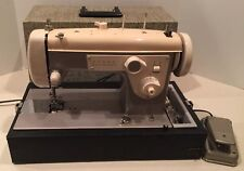 VINTAGE HEAVY DUTY SEARS KENMORE SEWING MACHINE MODEL 148.210 TESTED CLEAN WORKS
