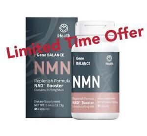 iHealth Purity NMN 45 Capsules NAD+ Booster Grade I anti-aging health longevity