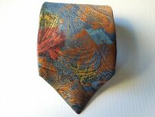 OAKS BY FERRE' SILK TIE SETA CRAVATTA MADE IN ITALY 118