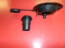 NEW! RV / Camper / Motorhome Black Gravity Water Inlet Tank Fill