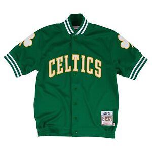 Mitchell /& Ness CNY Hoody Boston Celtics Grey//Green