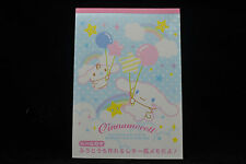 Sanrio Cinnamoroll Mini Memo Pad & Envelope with Sticker Balloon