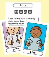 Let's Sign BSL Flashcards: Early Years and Baby Signs (British Sign Language) (L