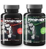 Muskelaufbau Testo Booster und Fatburner Kombipaket Testosteron Keine Steroide