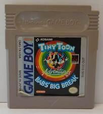 Console Gioco Game Nintendo GameBoy TINY TOON ADVENTURES BABS' BIG BREAK Konami