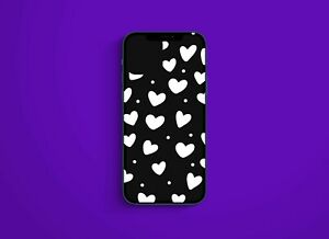 Hearts 1 Love Decal Sticker for iPhone Pro 12 You Choose Vinyl LG Decal