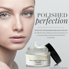 MediDerm Microdermabrasion Skin Polish & Exfoliation Cream + Reduced Blackheads