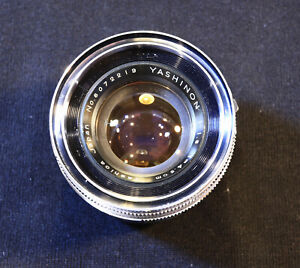 Yashica Lynx 1000 and Yashinon 1.8/45mm Lens Parts Only