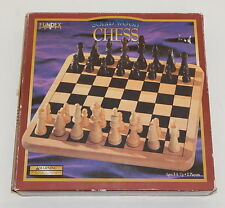 Fundex Games Solid Wood Chess F842