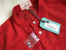Paul Smith ROSSO EARRINGS nonno, colletto T-SHIRT MANICA LUNGA - M - P2P 21