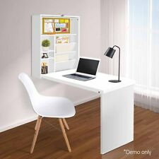 Multi-Functional Fold-out Wall Mount Computer Desk Home Office Space Saving