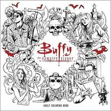 Buffy the Vampire Slayer Adult Coloring Book by Whedon, Joss