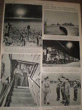 Photo article Nevada USA atomic bomb testing 1955 ref Z