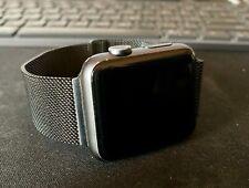 Apple Watch Series 1 - 42mm with Milanese Loop (Black)