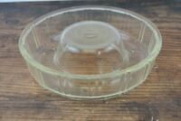 Vintage Glass Queen Anne Glass Bake Jello Mold 1942