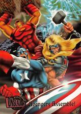 AVENGERS ASSEMBLE! / Marvel Onslaught Ultra (1996) BASE Trading Card #70