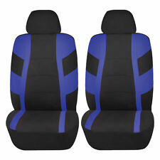 BLUE RACER AIRBAG COMPATIBLE FRONT LOWBACK SEAT COVERS SET FOR OPTIMA RIO