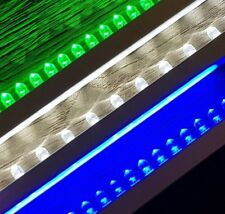 LED Light Strip Kit for 150-1500mm Water Blade - WHITE, BLUE or GREEN - FREE P&P