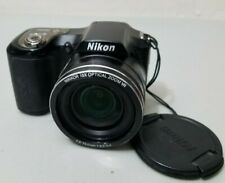Nikon COOLPIX L100 10.0MP Digital Camera - Black *Fair/tested*