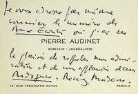 🌓Le journaliste PIERRE AUDINET envoie article LOUISE CONTE Rodogune Cléopâtre