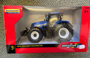 43149A1 1/32 Britains New Holland T7.315 - Damaged