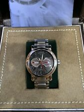 Stainless Steel Tourneau Gotham Day/Date Automatic Wristwatch with Box