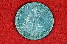 Estate  Find 1875 - S  Seated Liberty Twenty Cent Piece!! #G8064