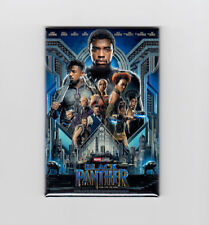 "BLACK PANTHER / OFFICIAL - 2"" X 3"" POSTER MAGNET (avengers infinity war print)"